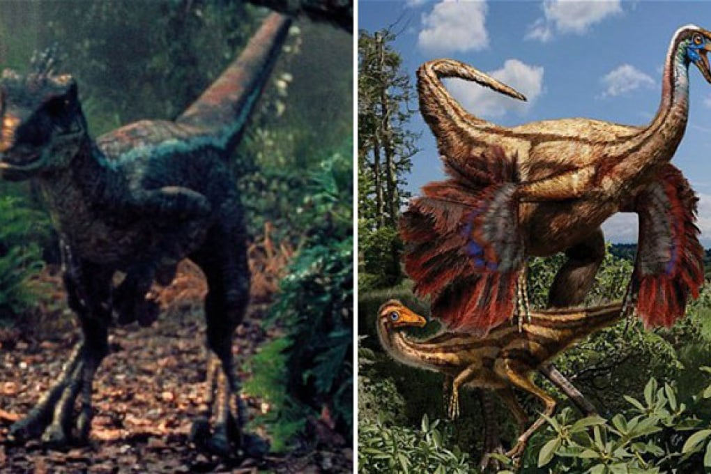 I dinosauri pelati di Jurassic Park 4