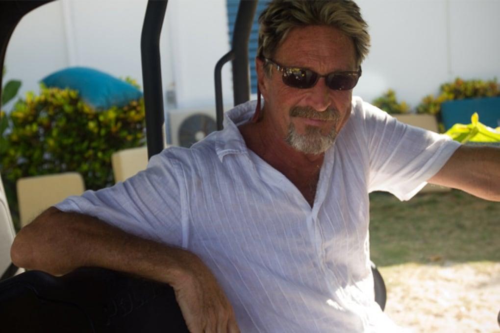 Le disavventure di mister McAfee in Belize