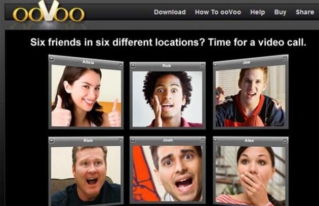 Applicazioni iPhone – ooVoo: video chiama contemporaneamente 5 amici