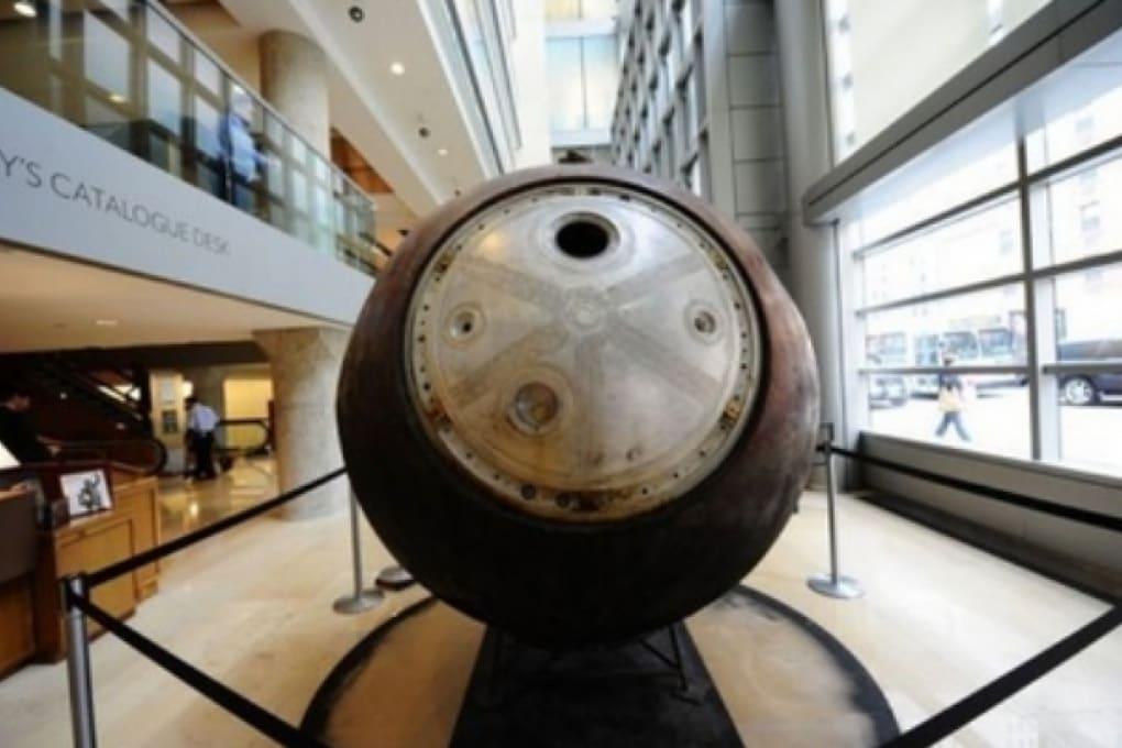 Navicella spaziale russa in vendita a New York