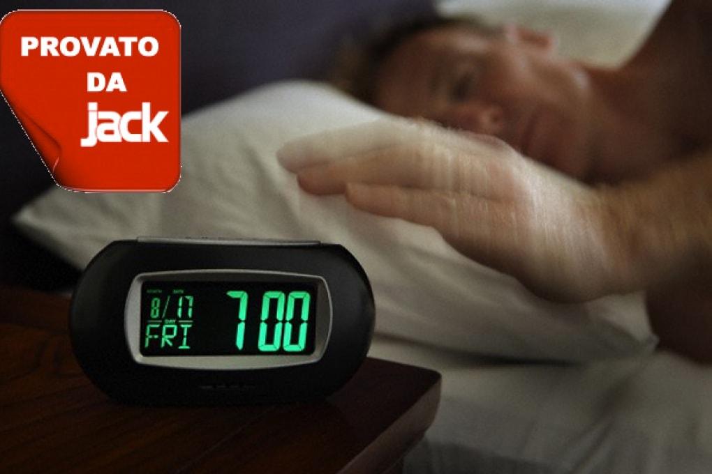 Spegni la sveglia con un cenno della mano