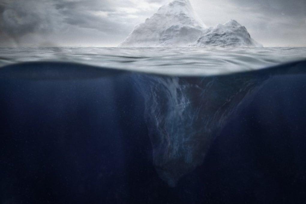 Gli iceberg che arrivarono in Florida