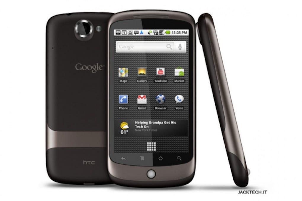 Google Nexus One – 399 €