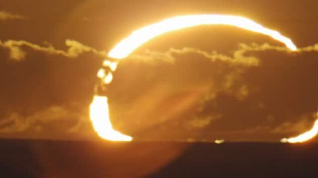 Anello di fuoco sopra l'Australia: il video in time-lapse di un'eclissi anulare