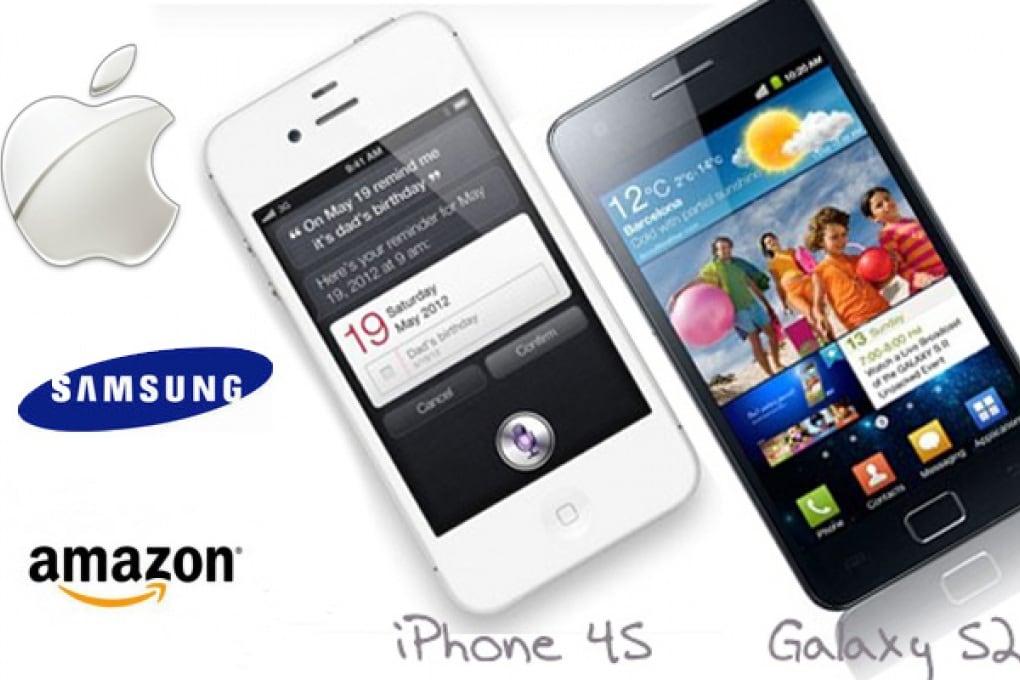Samsung e Amazon contro iPhone 4S