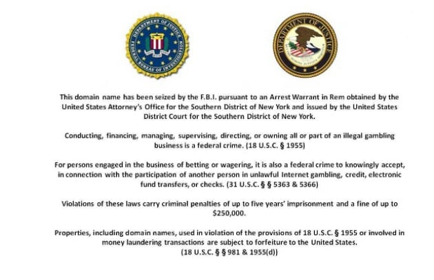 Fbi blocca 3 poker room