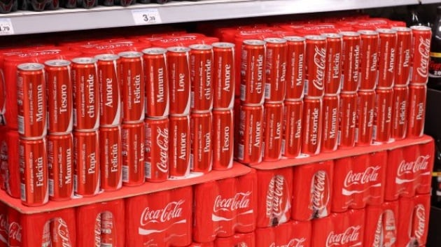 Il tuo nome sulla Coca-Cola