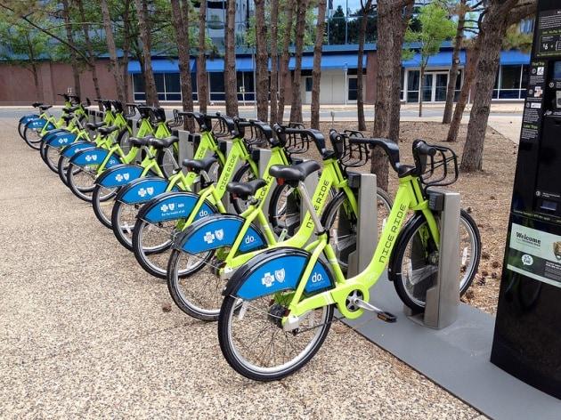 Il bike sharing protegge i ciclisti