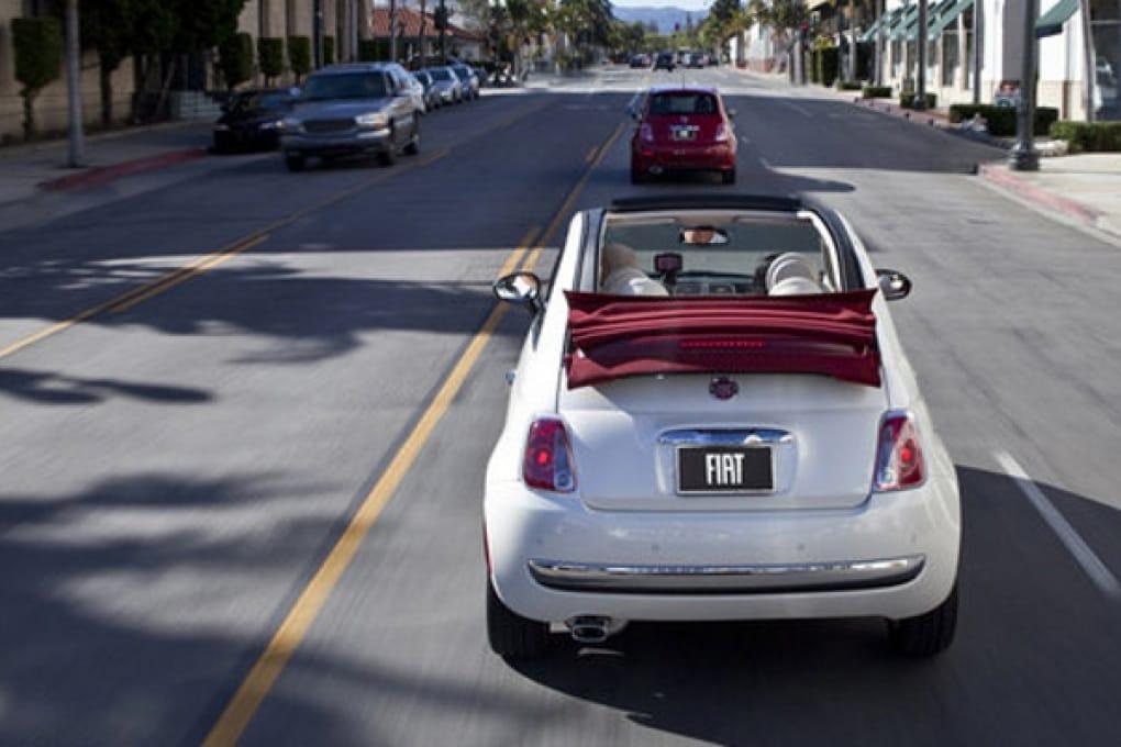 La Fiat 500 Cabrio conquista gli States