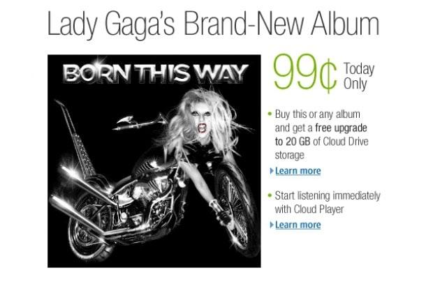 Discount Amazon: Lady Gaga e 20 GB di spazio