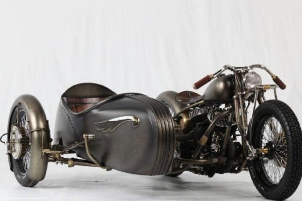Un italiano tra i campioni delle moto custom