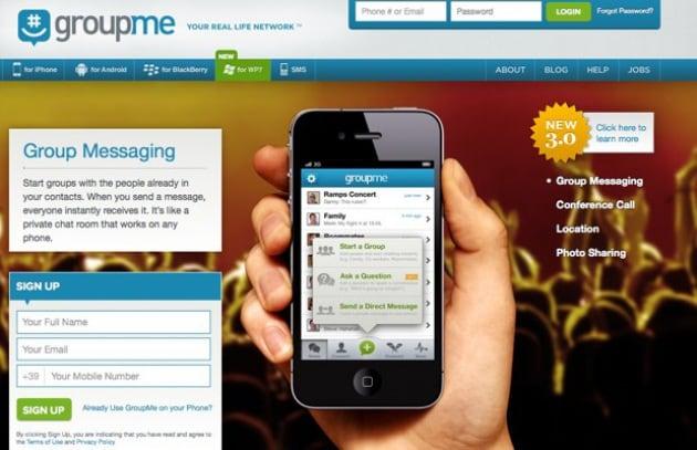 Skype acquista GroupMe, creatori di un'app per i messaggi di gruppo