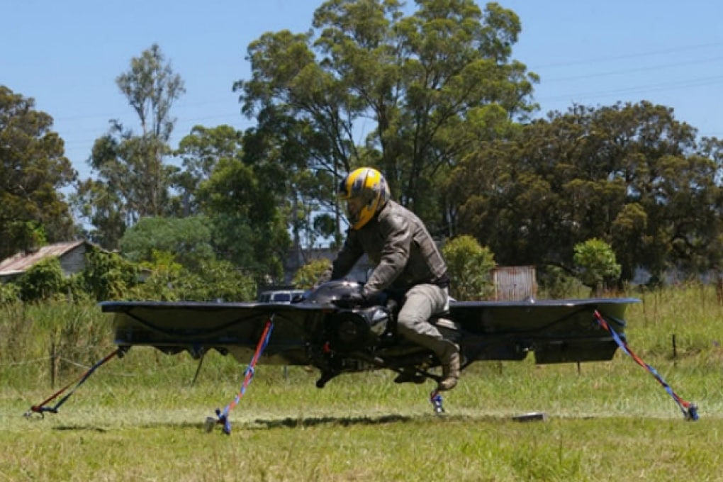 La moto elicottero si prepara al primo volo
