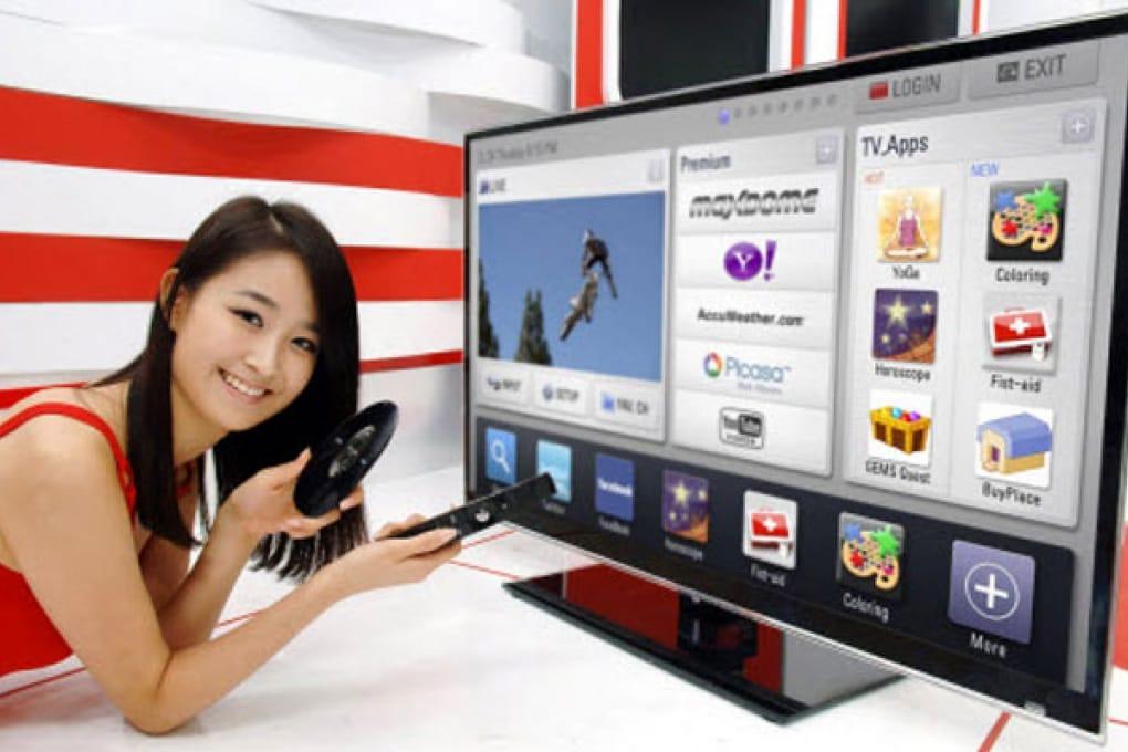 """LG inventa il """"mouse"""" per la tv"""