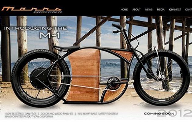 Bici Elettrica Marrs Cycles M 1 Che Sembra Una Harley Davidson