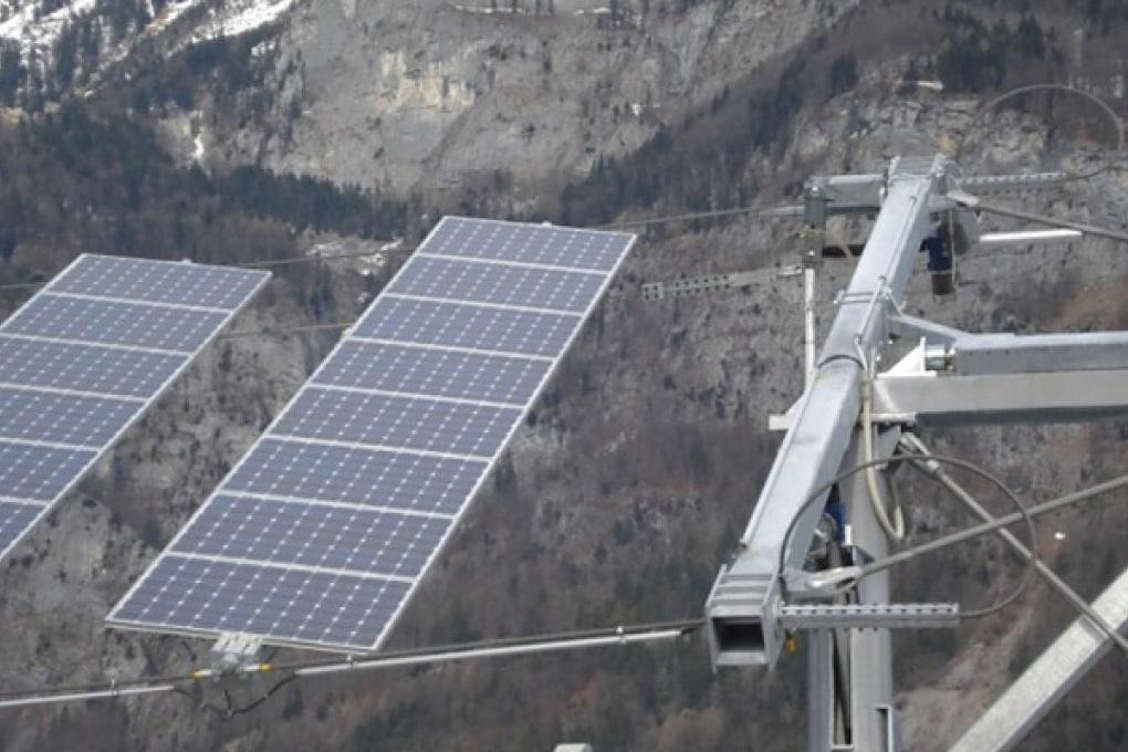 Il primo skilift a energia solare è svizzero