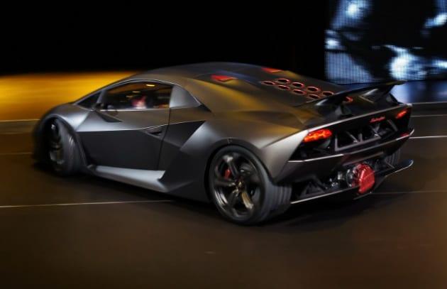 Supercar: ecco Lamborghini Sesto Elemento