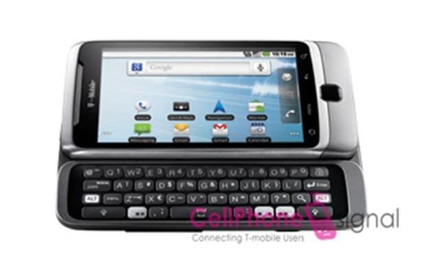 Web-scoop: ecco il T-Mobile G2 di HTC