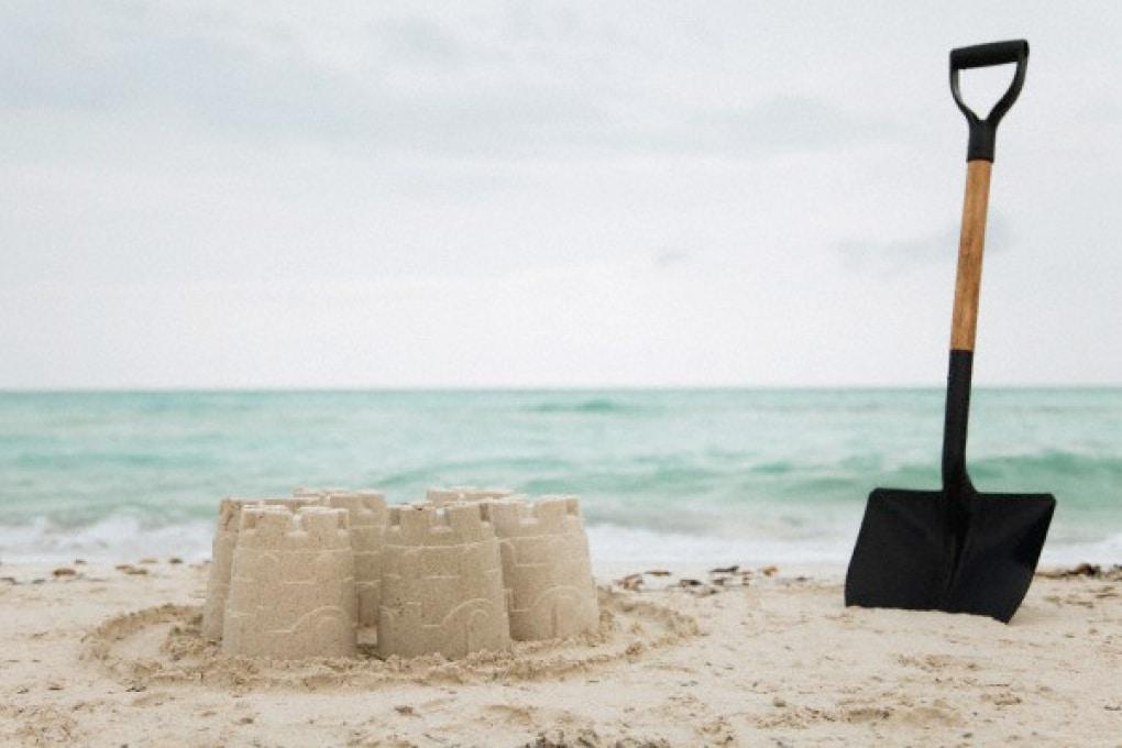 Il segreto per costruire castelli di sabbia