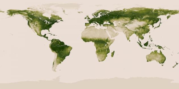 Come è verde la Terra
