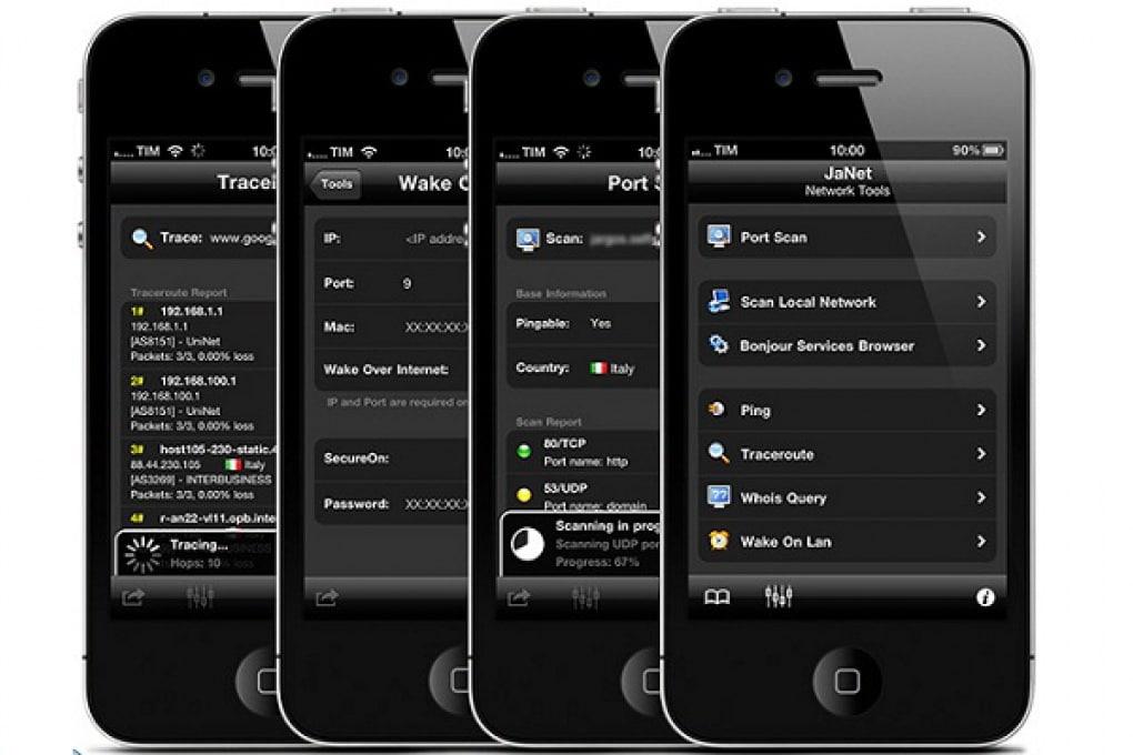 Controlla e gestisci la rete con l'iPhone e JaNet
