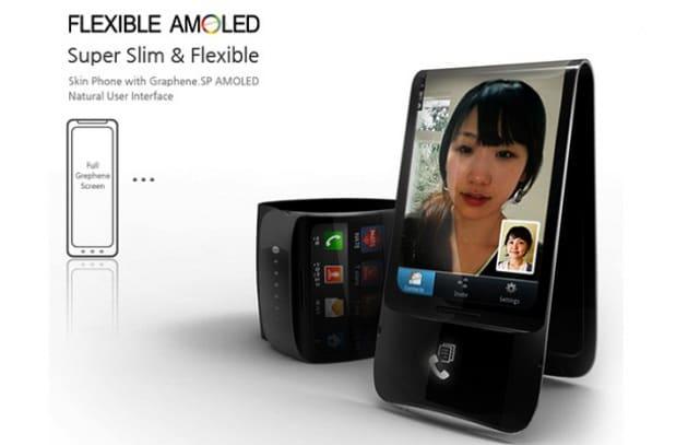 Un rivoluzionario Samsung completamente flessibile!
