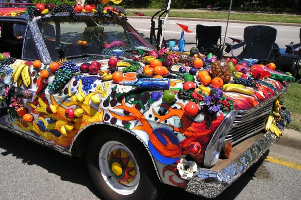 Le plastiche delle auto si rinforzano con la frutta