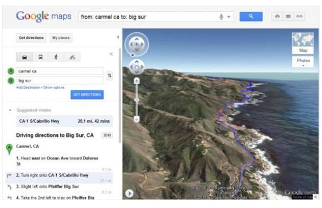 Google Maps più spettacolari grazie al 3D