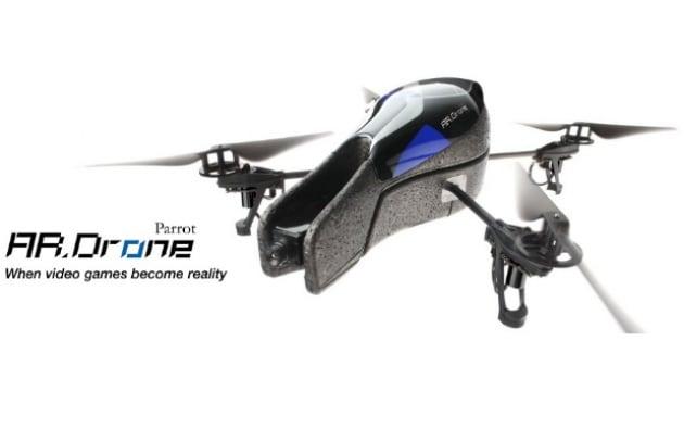 Parrot: applicazione Android per l'elicottero AR Drone