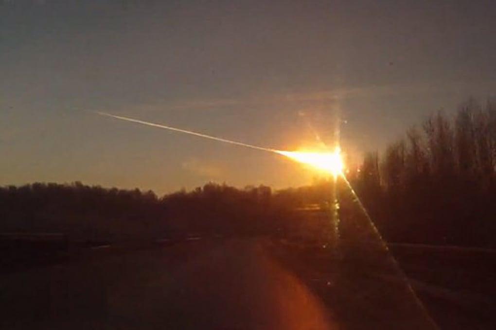Una meteora esplode sulla Russia
