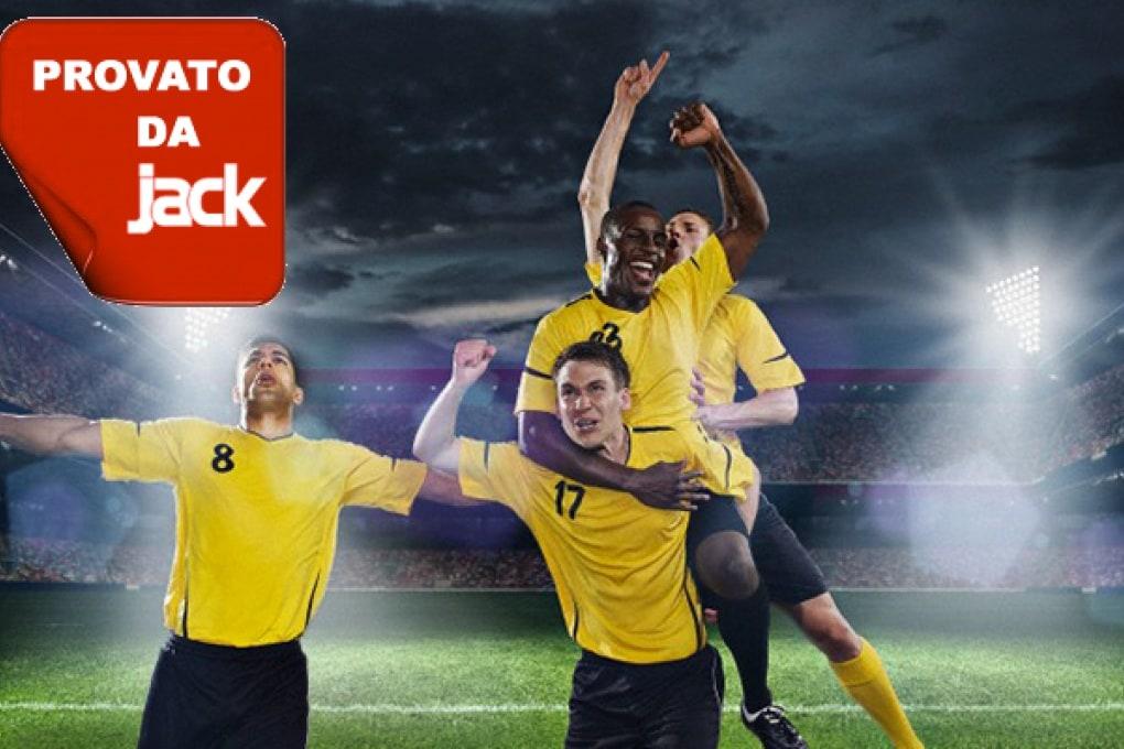 Organizza subito una partita di calcio tra amici