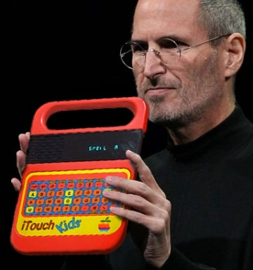 iPad: i migliori web-sfottò