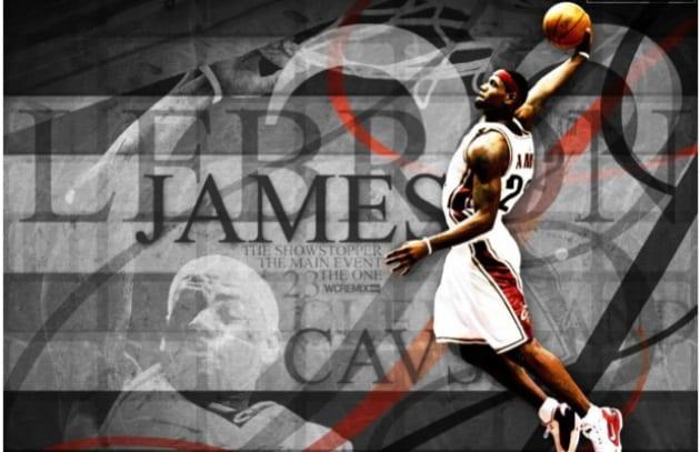 LeBron James fa canestro su Twitter