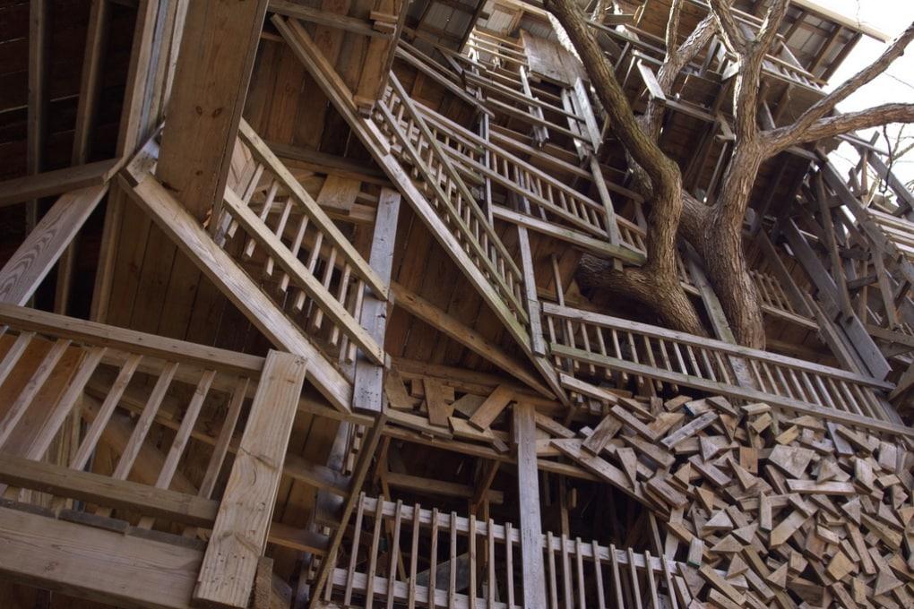 La casa sugli alberi più alta al Mondo