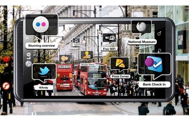 LG: Optimus 3D sarà dotato di realtà aumentata 3D