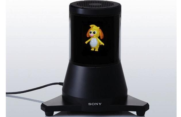 Incredibile schermo Sony 3D a 360 gradi