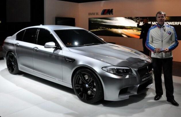Le foto rubate della BMW M5