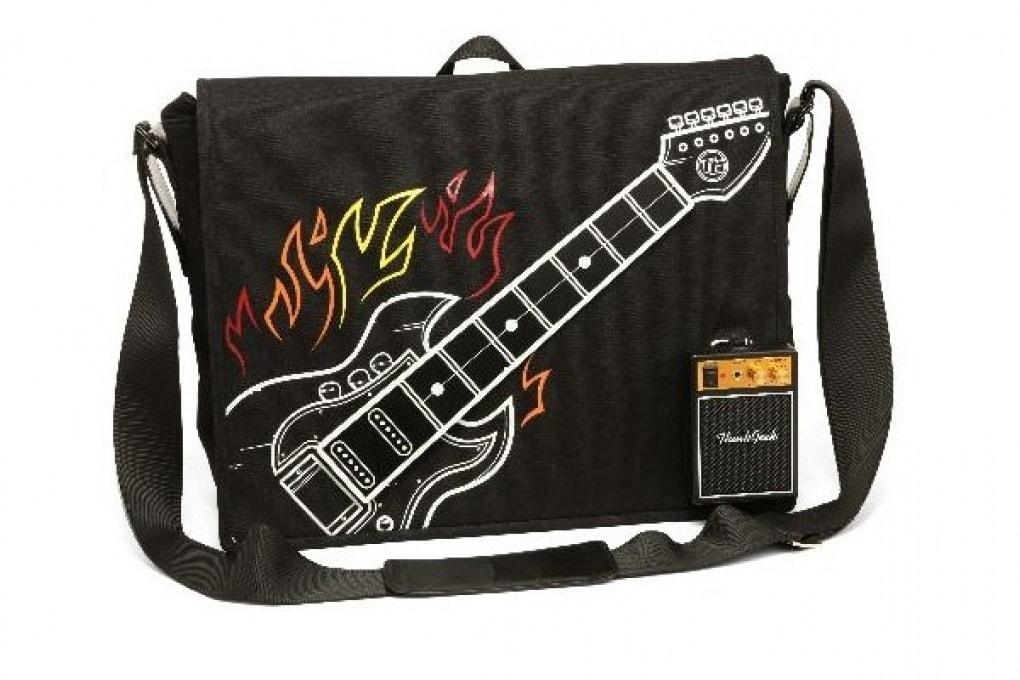 Una borsa hi-tech per gli amanti del rock
