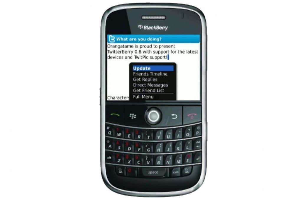 Twitter su BlackBerry, cambiano le regole di gioco!