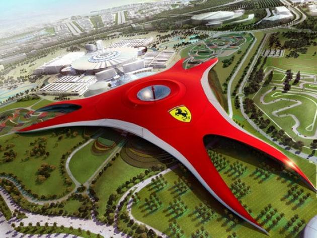 Apre il parco Ferrari di Abu Dhabi