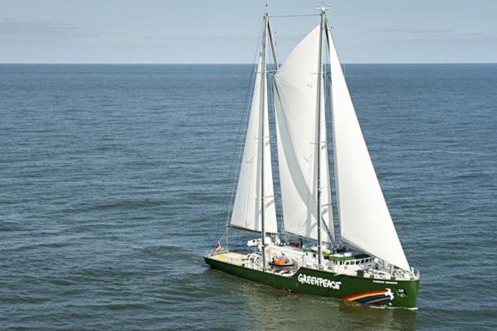 Rainbow Warrior III: nuova nave di Greenpeace