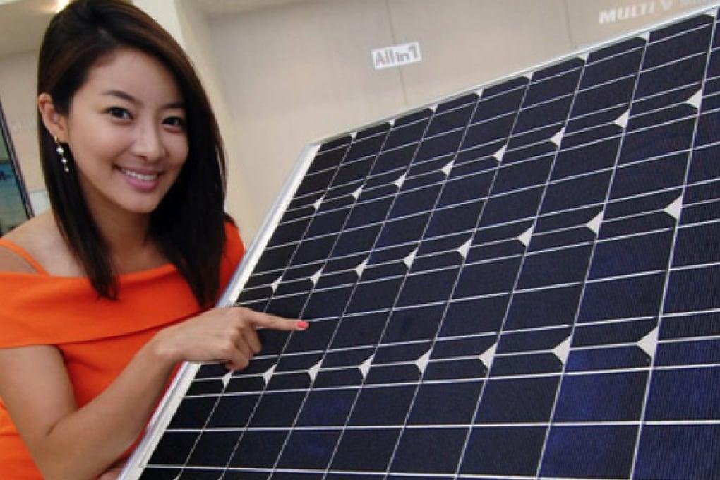 Primo condizionatore d'aria con pannelli solari