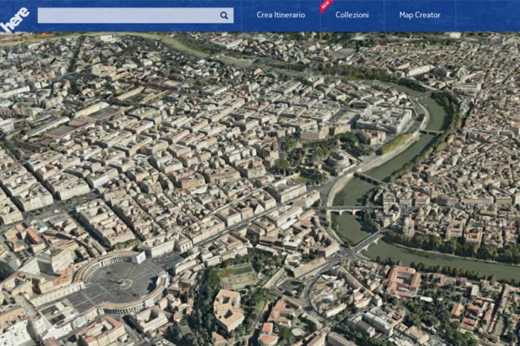 Le nuove mappe di Nokia QUI e adesso
