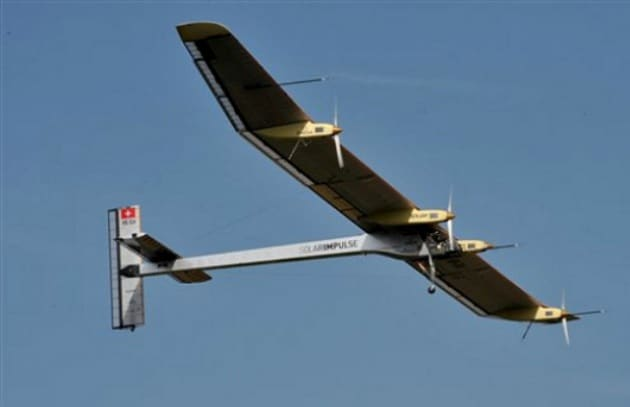L'aereo solare che fa il giro del mondo