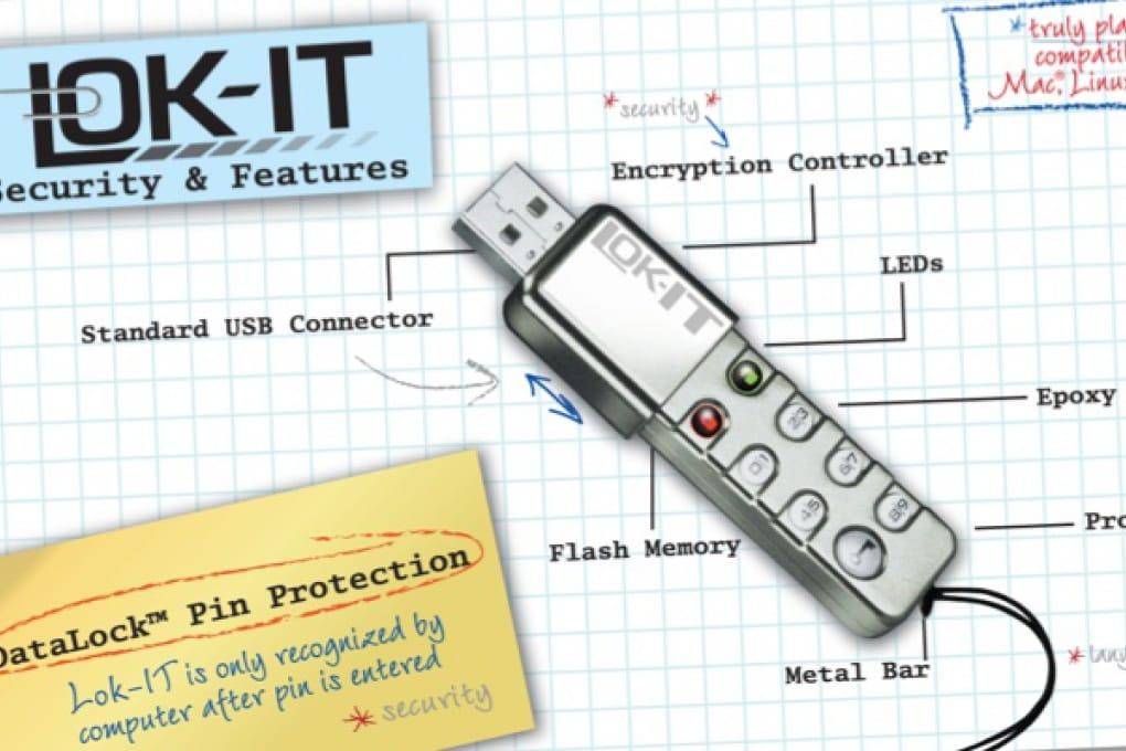 La chiavetta usb che protegge i dati con un codice PIN