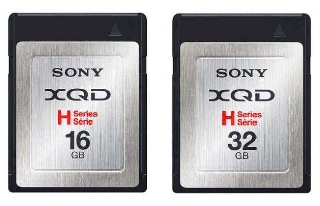 Sony presenta le prime schede di memoria XQD