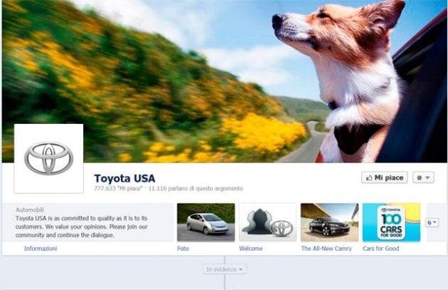 Facebook Timeline per le pagine business