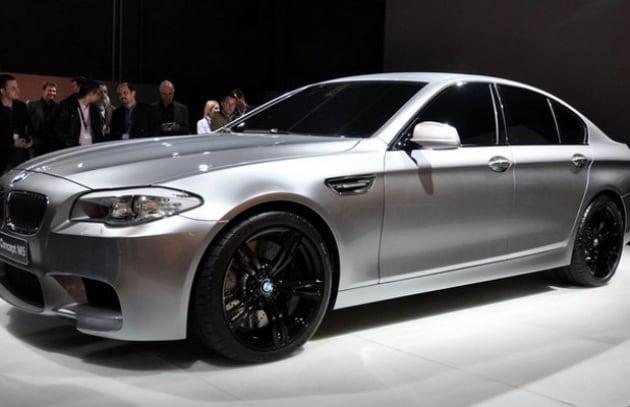 Le immagini della nuova BMW M5