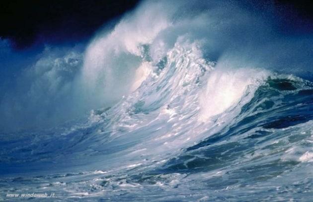 L'energia rinnovabile arriva dalle onde del mare