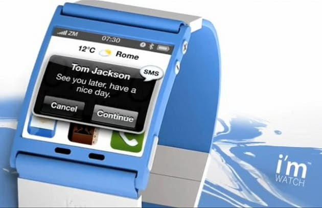 I'm Watch: l'orologio che gestisce lo smartphone